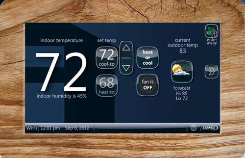 Lennox iComfort Wifi Thermostat review: perfect match for ... on
