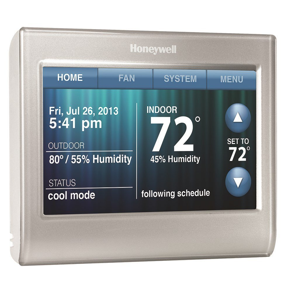 the thermostat c wire honeywell thermostat wifi rth9580wf review