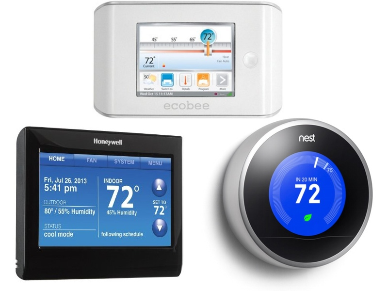 Wifi Thermostats Compared Nest Vs Honeywell Ecobee